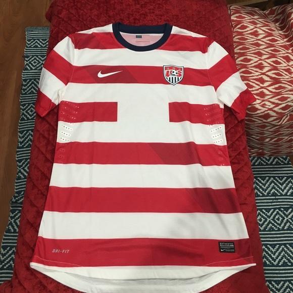 d0211930a3e Nike Shirts | Usa Mens National Team Authentic Jersey Rare | Poshmark